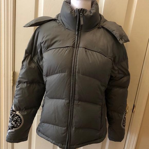 Athleta Jackets & Blazers - Athleta Genuine Down Puffer Jacket-Detachable Hood
